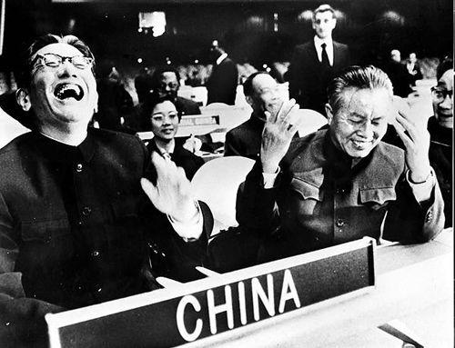 1971年党史大事记 中国重返联合国