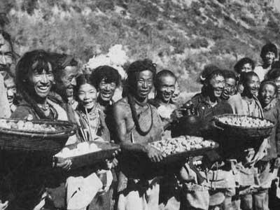 1951年 西藏和平解放