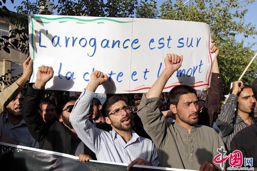 漫画 清真寺/在刊物发表当天,法国的穆斯林团体已经立刻表达了强烈的不满,...