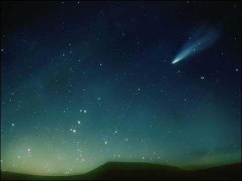 十月天象预报 流星雨点亮星空图片