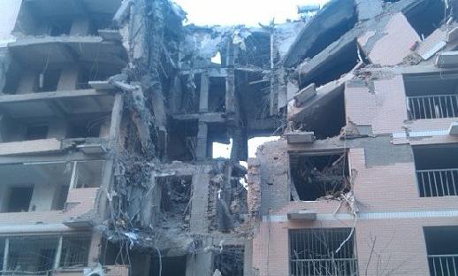 河北保定一居民楼发生爆炸 致1死34伤