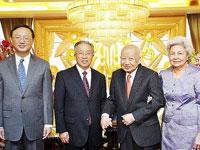 中国驻柬埔寨前大使胡乾文谈西哈努克[组图]