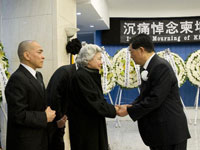 胡锦涛出席柬埔寨太皇西哈努克遗体告别仪式