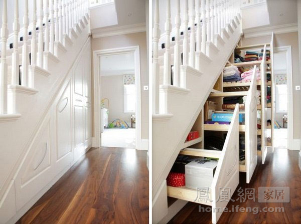 40款樓梯底收納空間設計(組圖)
