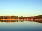 奥林匹克森林公园的山水画卷