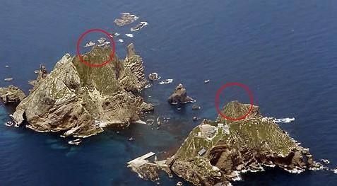 韩国为独岛东西两岛命名