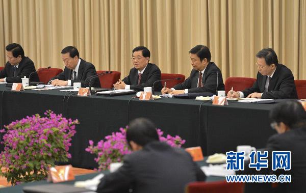 胡锦涛:努力在提高党建科学化水平方面迈出新步伐