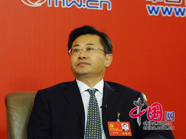 司法部副部长、党组成员赵大程(摄影中国网 高聪)