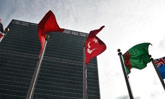"""联合国总部因飓风""""桑迪""""蒙受巨大损失"""