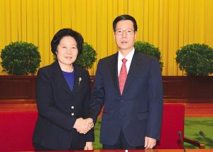 孙春兰:张高丽同志夙夜在公 为天津作出了贡献