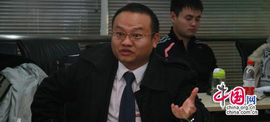 華圖教育集團高級副總裁張仕友發表講話