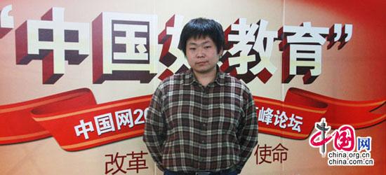 東方愛嬰諮詢有限公司網路推廣經理李續在中國網外語教育培訓行業高峰論壇上的發言
