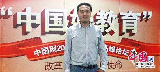 新動力學校運營總監李展騰在中國網外語教育培訓行業高峰論壇上的發言: