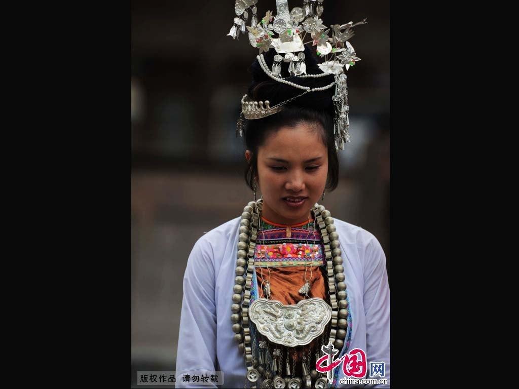 少数民族服饰鉴赏:侗族