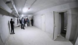 图为未来科技城的地下管廊维修检测入口大厅(12月12日摄)。新华社记者李欣摄
