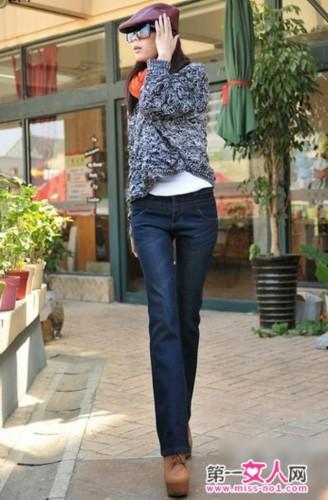 牛仔裤配什麼鞋好看? 7种搭配扮靓冬季(图)