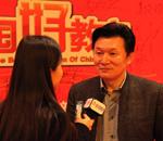 王旭明接受记者专访