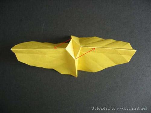 图解纸玫瑰的折法(图)