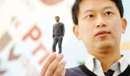3D打印照像体验馆北京开馆 人体塑像逼真立体