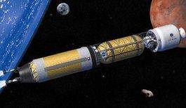 NASA研发核动力火箭 缩短飞往火星时间