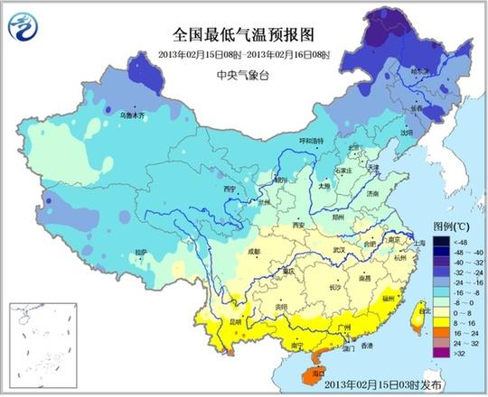 据中央气象台2月15日发布未来三天全国天气预报,江苏安徽等地有