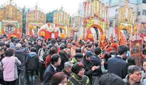 台湾新北百年传统神猪祭典 遭动物保护团体叫停