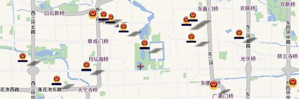 北京房山良乡镇地图