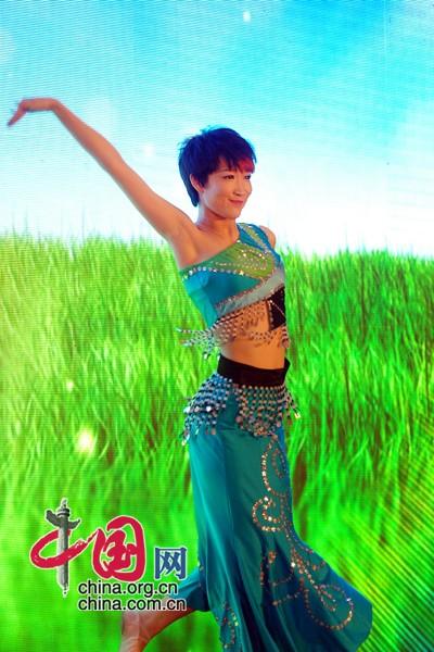 中国 选拔/和谐中华第三届民族之花选拔活动启动新闻发布会开场独舞表演