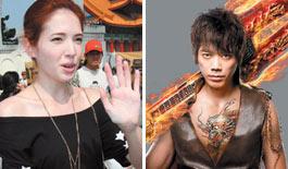 关心社会议题 台湾近百艺人上街怒吼废核