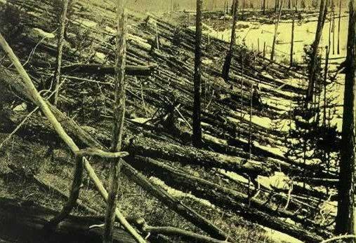 1908年俄国通古斯神秘大爆炸调查