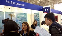 第十八届中国国际教育巡回展北京举行