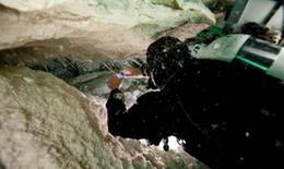 """澳大利亚海下洞穴发现神秘外星人""""粘液"""""""