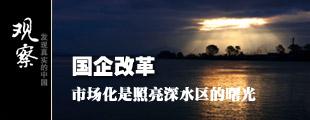 国企改革:市场化是照亮深水区的曙光