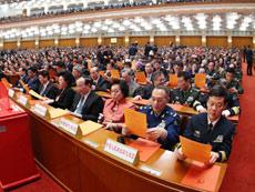 十二届全国人大一次会议第六次全体会议[组图]