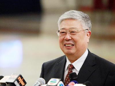 3月14日,第十二届全国人民代表大会第一次会议在人民大会堂举行第四次全体会议,图为李立国回应'记者会回答'死猪'火葬费'事件。(中国网记者 杨佳摄影)