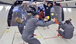 法公司推出无重力飞行服务 5000英镑即可体验