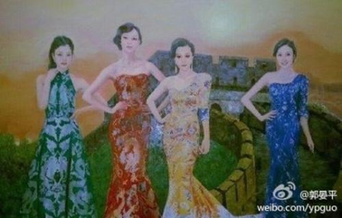 elena飘者岁月:中国当代四大美女是她们