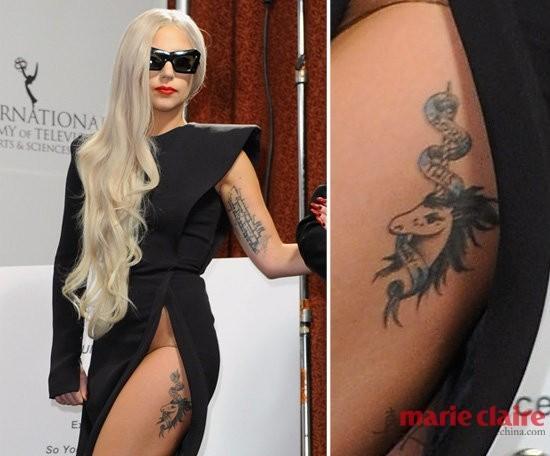 纹身样式大揭秘 挖掘明星最私密的身体艺术(图)