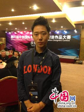 中国网专访第21届汉帛杯银奖得主Park Min Seo