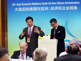 中国外文局局长周明伟出席博鳌亚洲论坛2013年年会开幕式