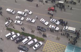 河北邯郸致2人死亡运钞车命案现场直击