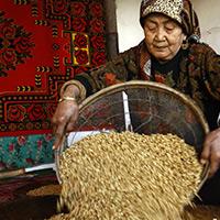 [图片故事]维吾尔族的迎春饭