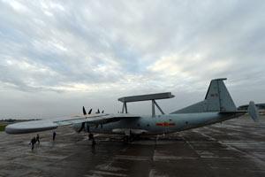 空军出动空警-200预警机投入抗震救灾