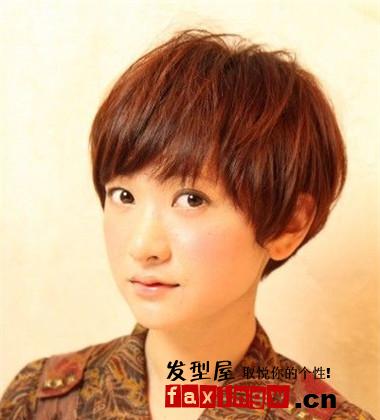 2013头发女生女生头型轻薄短发发型短发(1)披头发比扎春夏好看风尚图片