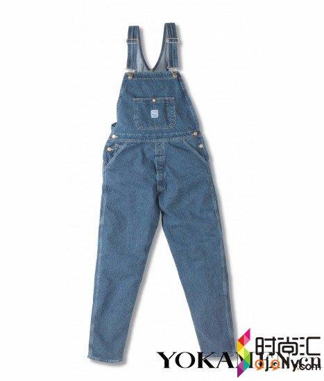 农场主也有范儿 工装背带裤穿出摩登感(组图)