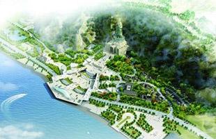 南京幕府山將建150米高達摩像 為樂山大佛兩倍