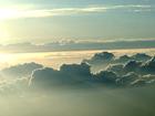 鳥瞰近北京上空紛至遝來的海天一色 [組圖]