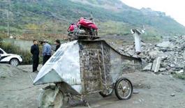 65歲農村老漢自造直升機 計劃開飛機放牛羊(圖)