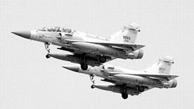 台湾又一架幻影战机坠海 10年摔掉4架