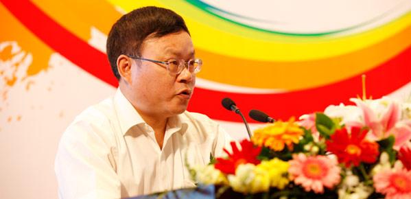 中国网副总裁李富根致欢迎辞